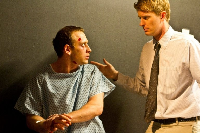 Roy Cohn (Yosef Podolski) & Joe Pitt (David Kubicka)