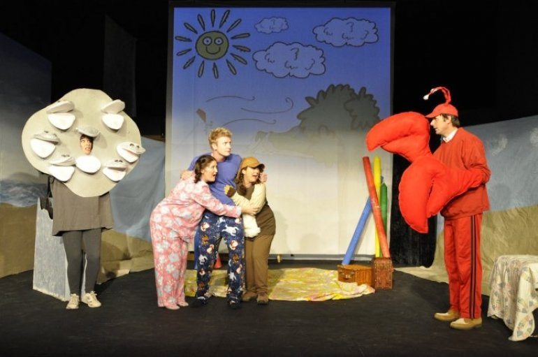 Billy in Priscilla's Perfect Day - a children's theatre show at Mammoth Lakes Rep